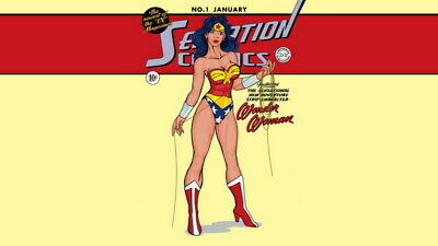 """025 Wonder Woman - Sexy Girl Justice League USA Hero 24""""x14"""" Poster"""
