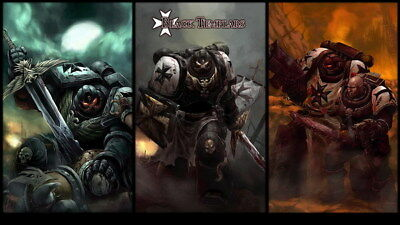 "020 Warhammer 40k Space Marine Fighting TV Game 24/""x14/"" Poster"