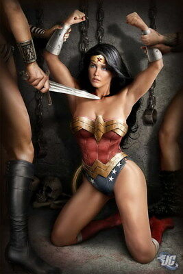"""029 Wonder Woman - Sexy Girl Justice League USA Hero 14""""x21"""" Poster"""