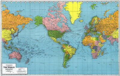National geographic world executive map laminated poster 46x30 034 world map national geographic retro map of the world 37x24 poster gumiabroncs Image collections