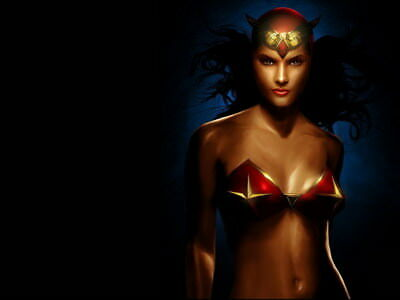 """039 Wonder Woman - Sexy Girl Justice League USA Hero 32""""x24"""" Poster"""