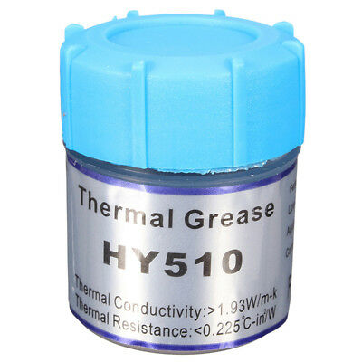 HY510 10g Grey Thermal Conductive Grease Paste For CPU GPU Chipset Cooling D5O5