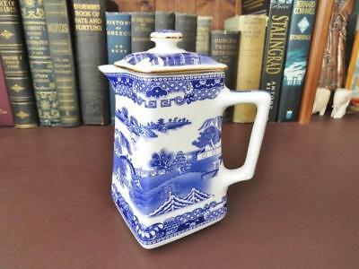 Ringtons Tea Merchants - Wade Ceramic Hot Water Jug Blue & White Willow Pattern