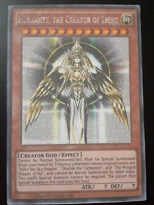 Horakhty, the Creator of Light Proxy Yugioh Card Common