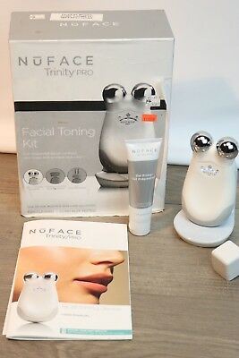 NuFACE Trinity PRO Facial Toning Kit with 2 Oz. Gel Primer Read
