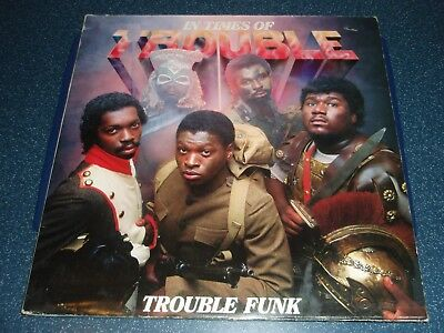 Doppel-LP   TROUBLE FUNK     IN TIMES OF TROUBLE