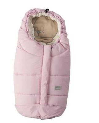 Nuvita Ovetto Cuccioli Footmuff - Soft Pink Sleeping Bear