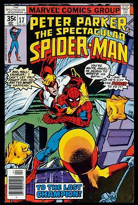 The Spectacular Spider-Man (1976 Series) # 17 - Apr 1978 | 6.0 FN