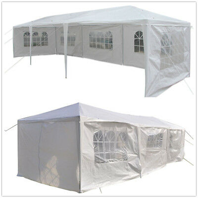 10'x30' Party Wedding Tent Outdoor Canopy Heavy duty Gazebo Pavilion Cater Event