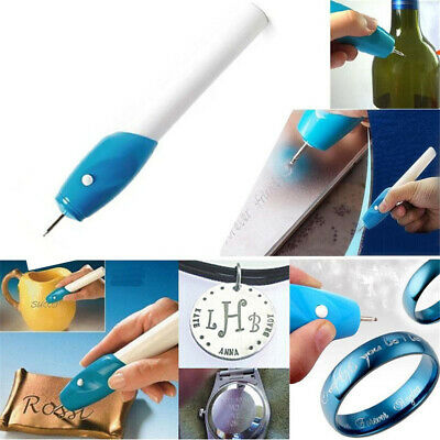 Engraver Electric Hand-Held Engraving Pen Glass Plastic Metal Carve Tool