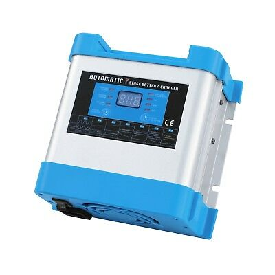 20A 12V Intelligent Automatic Multi-stage Mains Battery Charger with LCD display