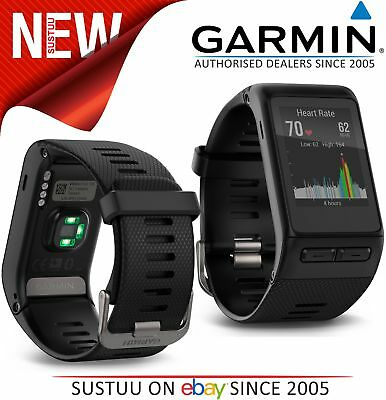 Garmin Vivoactive HR│GPS Smartwatch│Heart Rate Monitor│Elevate│Activity Tracker