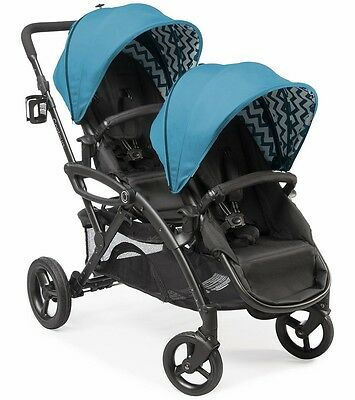 Contours 2017 Options Elite Tandem Stroller in Laguna Brand New!! Open Box!
