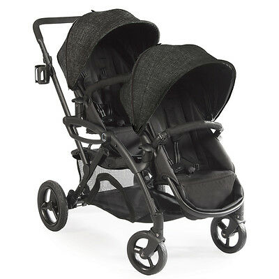 Contours 2017 Options Elite Tandem Stroller in Black Carbon Brand New!! Open Box