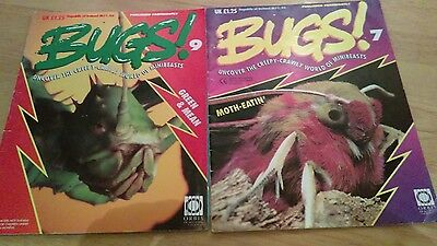 Retro 1994 collectors items BUGS! magazine, issues 7 and 9. OVER 20 YEARS OLD!