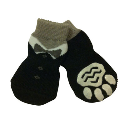 Dog Socks - Dinner Jacket Winter Dog Socks - Pk 4 - RichPaw - Non Slip S to XL