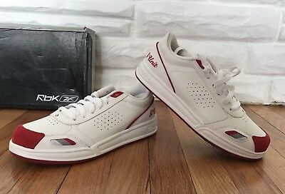 e7c412f0fd8 Reebok Youth G-Unit G6 III GS White Red Size 6 Shoes New Deadstock