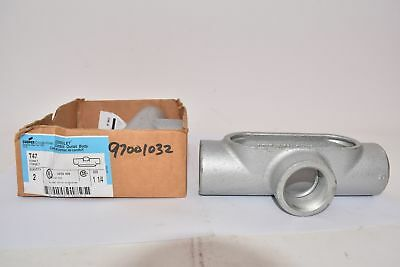 Lot of 2 NEW Cooper Crouse Hinds T47 1-1/4''