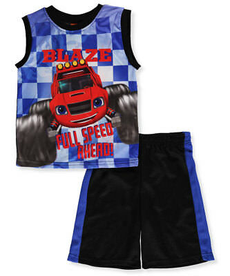 Blaze and the Monster Machines Boys' 2-Piece Outfit