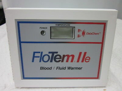 DATACHEM FloTem IIe Blood/Fluid Warmer Plus 50 Flo Tube EXT Product No. 8090
