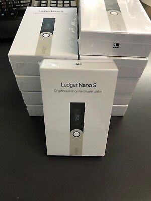 Ledger Nano S Crypto Hardware Wallet In Stock Ships Fast Bitcoin Ethereum Ripple