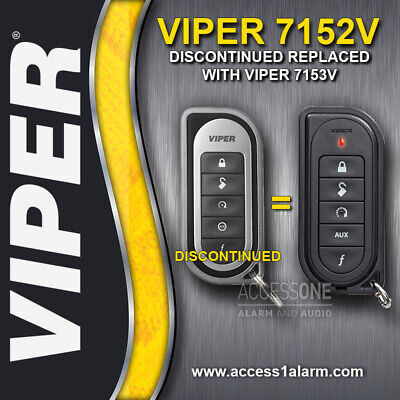 Viper 7152V 1-Way 5-Button Replacement Remote Control Transmitter For Viper 5301