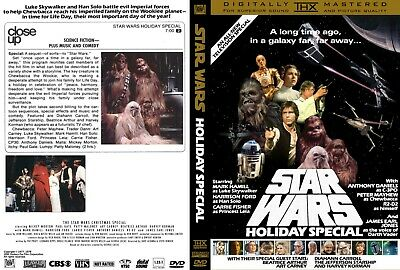 Star Wars 2 disc special Holiday Special DVD Super RARE & Deleted Magic new hope