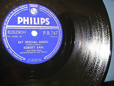 Robert Earl: There's Only You/ My Special Angel - 1957 UK - wie neu