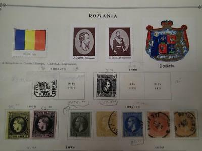 Romania 1866-1940 Extensive  Mint/used Collection