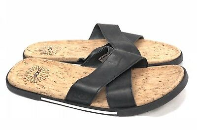 1b41553e3e6 UGG ITHAN CORK Tamarind Brown Slides Sandals Mens Us 14 New - $49.99 ...