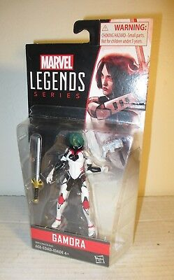 "2015 Marvel Legends Guardians of the Galaxy MOC 4"" Gamora Action Figure Hasbro"