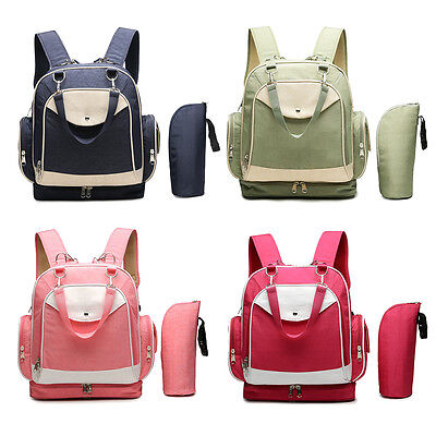 2019 Baby Waterproof Mummy Diaper Nappy Changing Shoulder Computer Bag Backpack