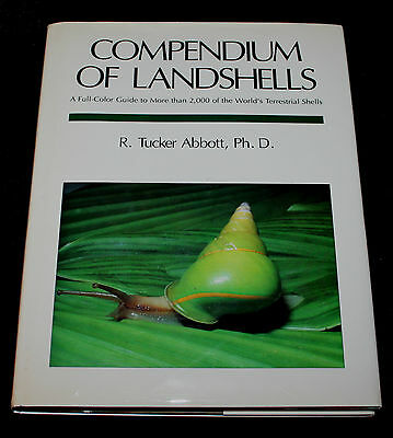 Compendium of Landshells A Full Color Guide by R. Tucker Abbott