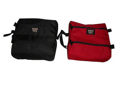 Firefighters twin toiletry or shaving bag Made in USA.