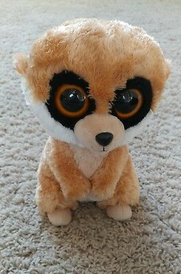 BEANIE BOO REBEL The Meerkat Mint Condition retired 6