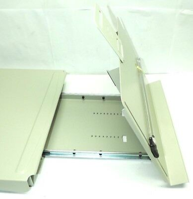 Humanscale CH3000 Document Holder Copy Drawer Metal Color: Almond Magnifier