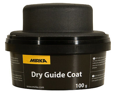 Mirka Control Powder 100 G Black with Hand Finding by Fehlstellen