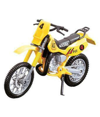 Dickie Toys Dream Bike KX250 Yellow 203385773b
