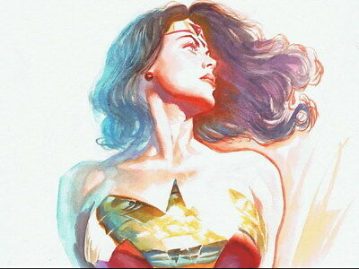 """033 Wonder Woman - Sexy Girl Justice League USA Hero 18""""x14"""" Poster"""