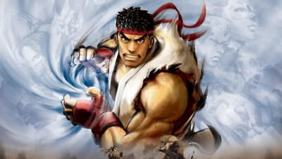 "046 Street Fighter - Fight Ryu Guile Ken ChunLi Game 42""x24"" Poster"
