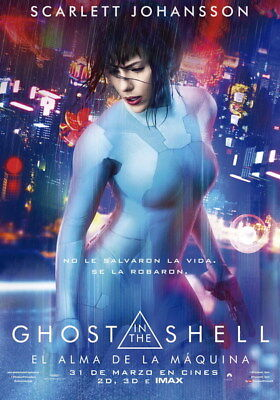 "044 Ghost In The Shell - Fight Riot Police Anime Hot Movie 24""x34"" Poster"