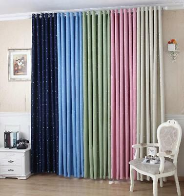 New Solid Grmmet Window Curtain Lined Blackout Thermal Treatment Drape Panel