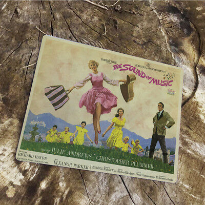 Sound of music VINTAGE ADVERTISING ENAMEL METAL TIN SIGN WALL PLAQUE