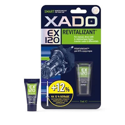 XADO Revitalizant EX 120 Transmission Gear Boxes TUBE 9 ml