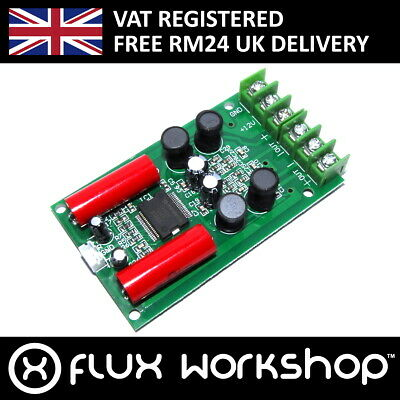 TA2024 Two Channel 12V Audio Amplifier Module 15W 10W 4 8Ohm Flux Workshop