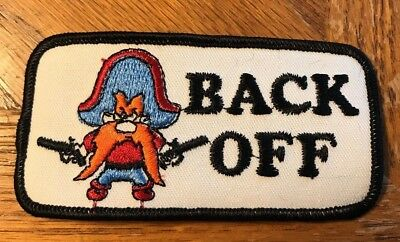 Vintage Yosemite Sam Back Off Patch