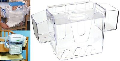 Wipe Warmer Station Baby Diaper Towel Nappy Milk Bag Box Carrier Organizer Clear