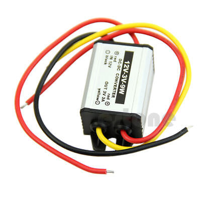12V to 3/3.3/3.7/5/6/9V Power Supply Module Waterproof DC to DC buck Converter