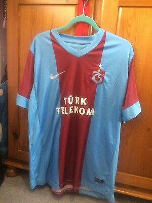 Trabzonspor Turkey Mens Football Shirt Size Large