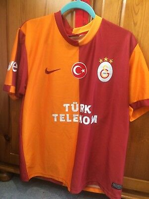 Galatasaray Mens Large Home Shirt Size Large